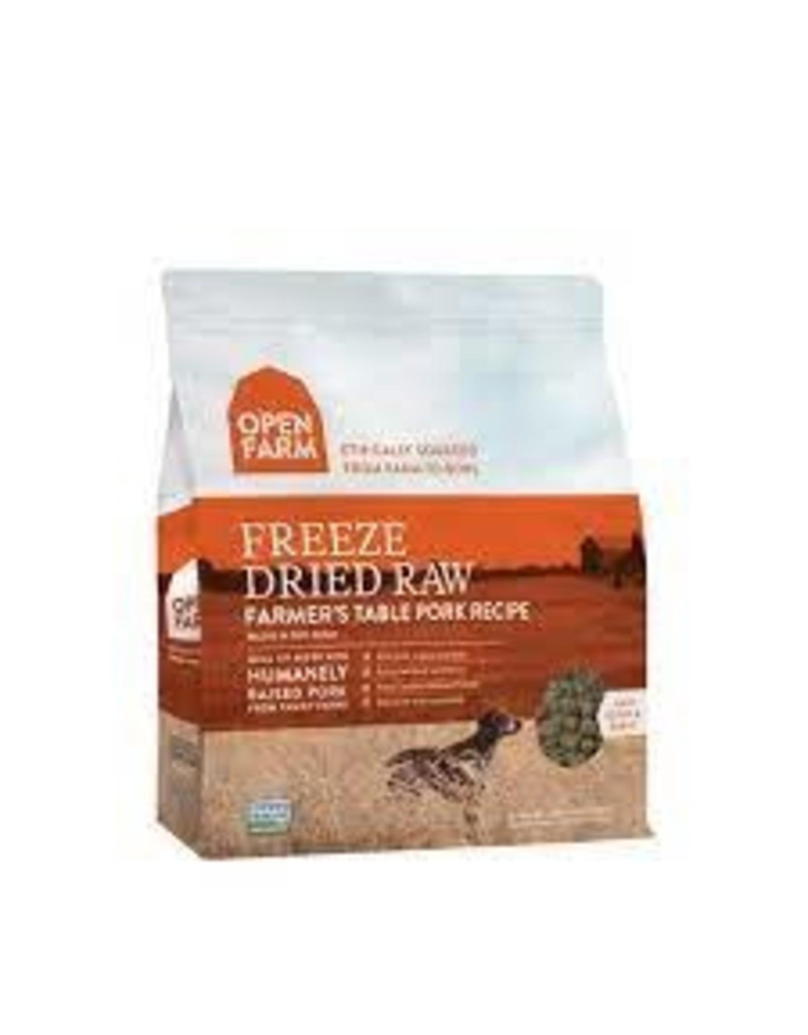 Open Farm Farmer's Table Pork Freeze-Dried