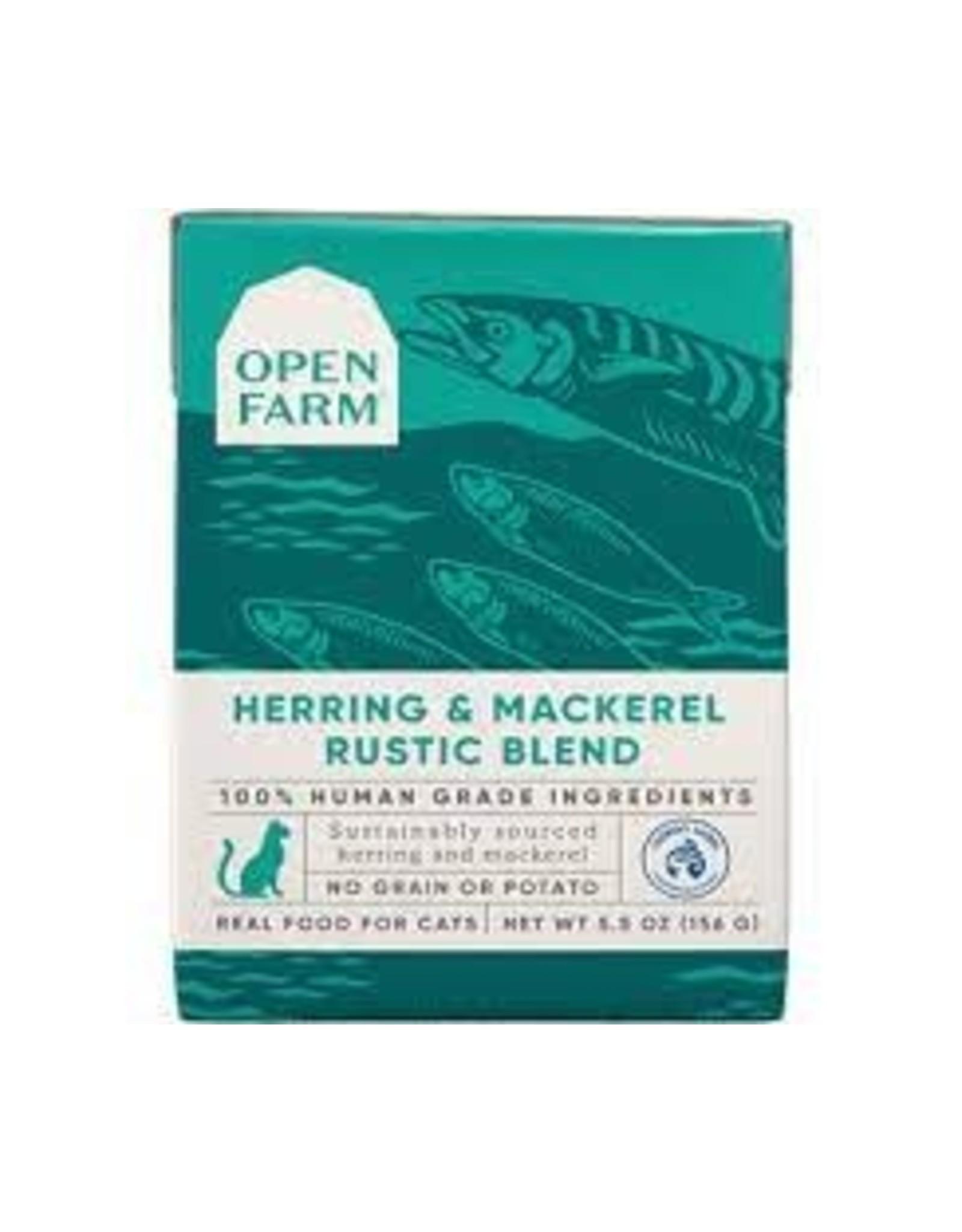 Open Farm Herring & Mackerel Rustic Blend (Cat Food), 5.5oz