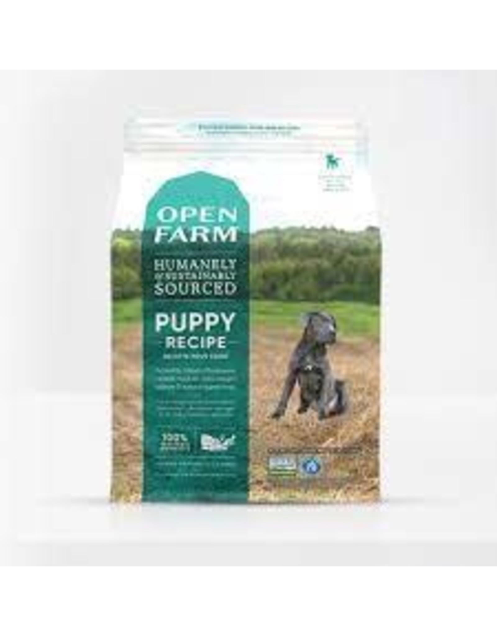 Open Farm Puppy Recipe