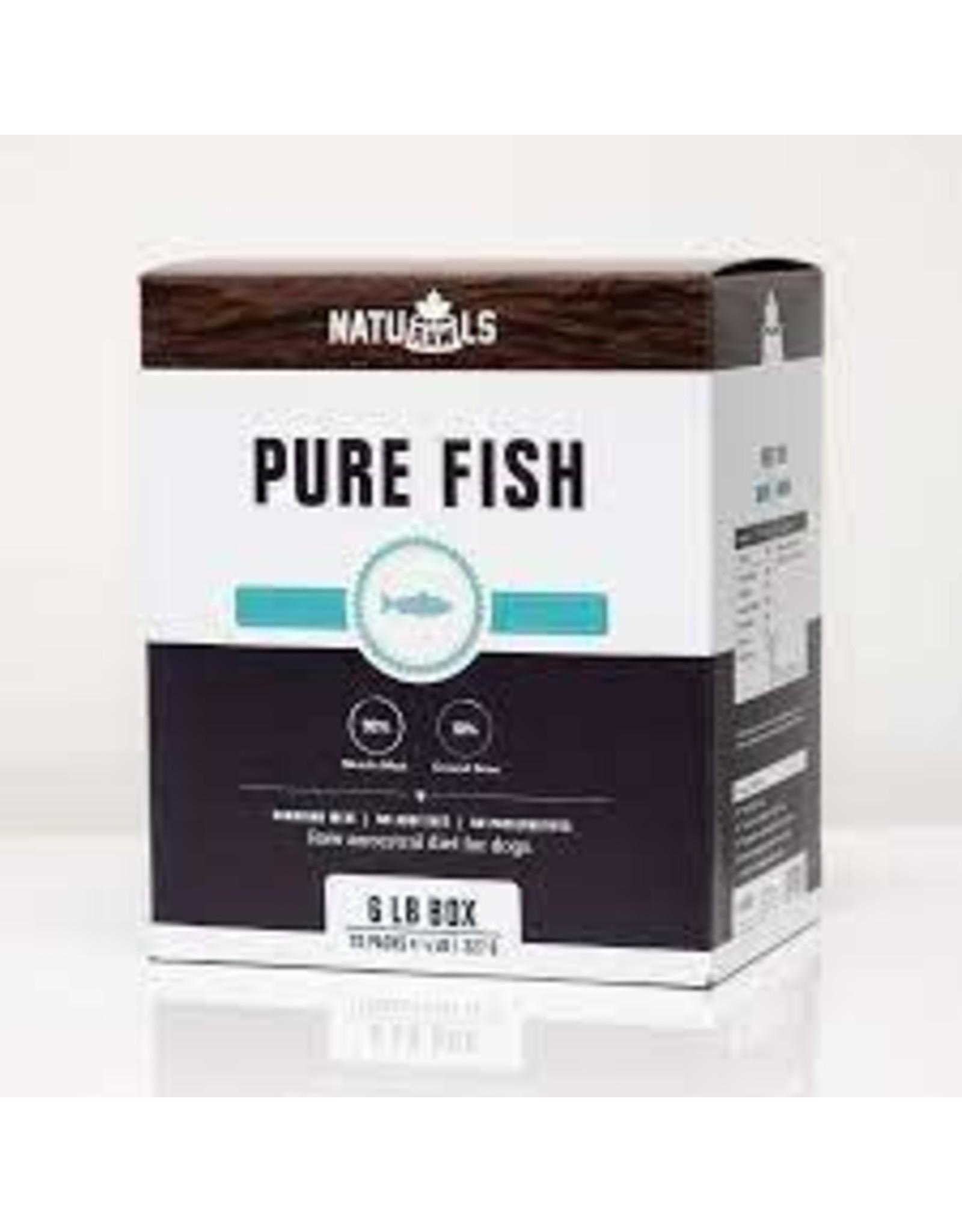 NatuRAWls NatuRAWls - Frozen Raw Pure Salmon & Trout, 12 x 227g