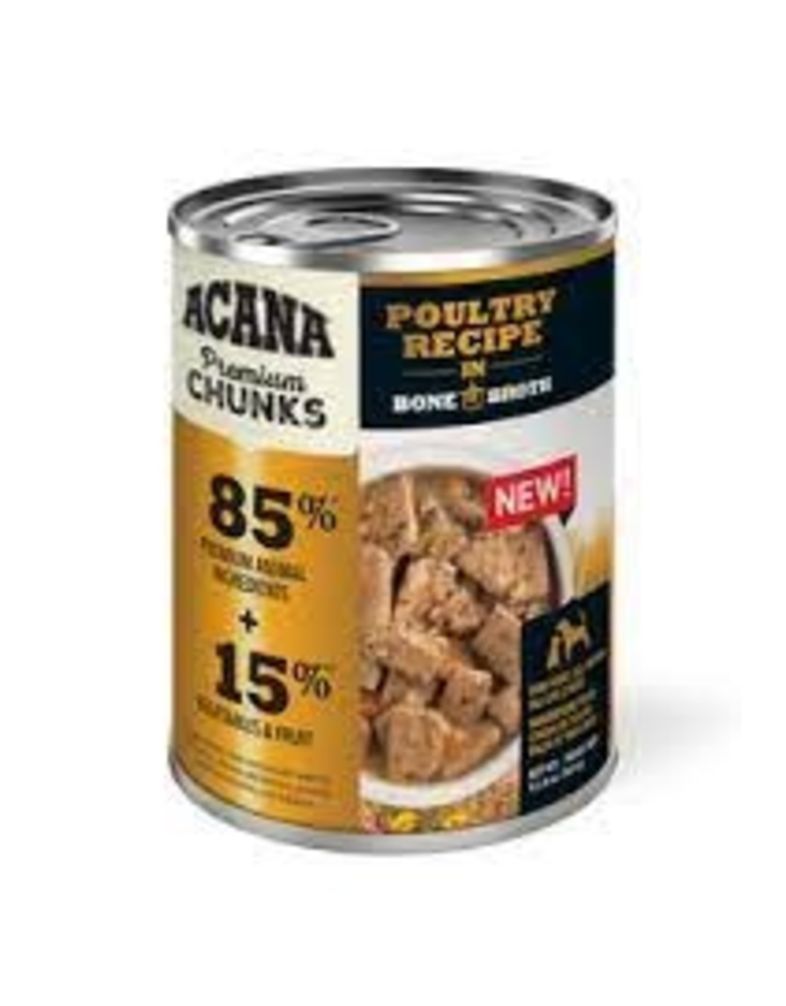 Acana Poultry Recipe in Bone Broth, 12.8oz