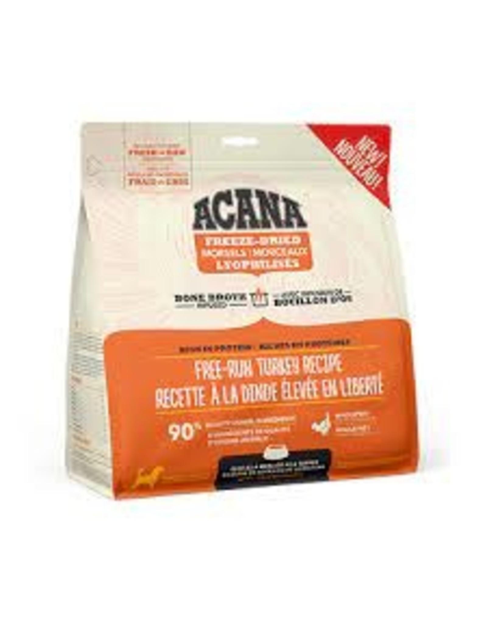 Acana Free-Run Turkey Recipe Freeze-Dried Raw