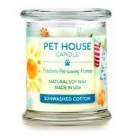 One Fur All Candle - Sunwashed Cotton, 8.5oz