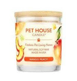One Fur All Candle - Mango Peach, 8.5oz