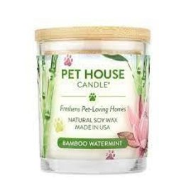 One Fur All Candle - Bamboo Watermint, 8.5oz
