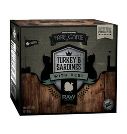Big Country Raw BCR - Fare Game - Turkey & Sardines with Beef, 2lb