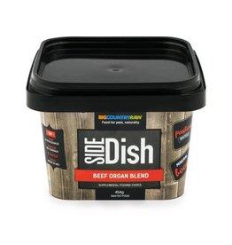 Big Country Raw BCR - Side Dish - Beef Organ Blend, 1lb
