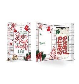 """Bosco & Roxy's Pre-packaged Santa Paws 6"""" Bone in Box"""