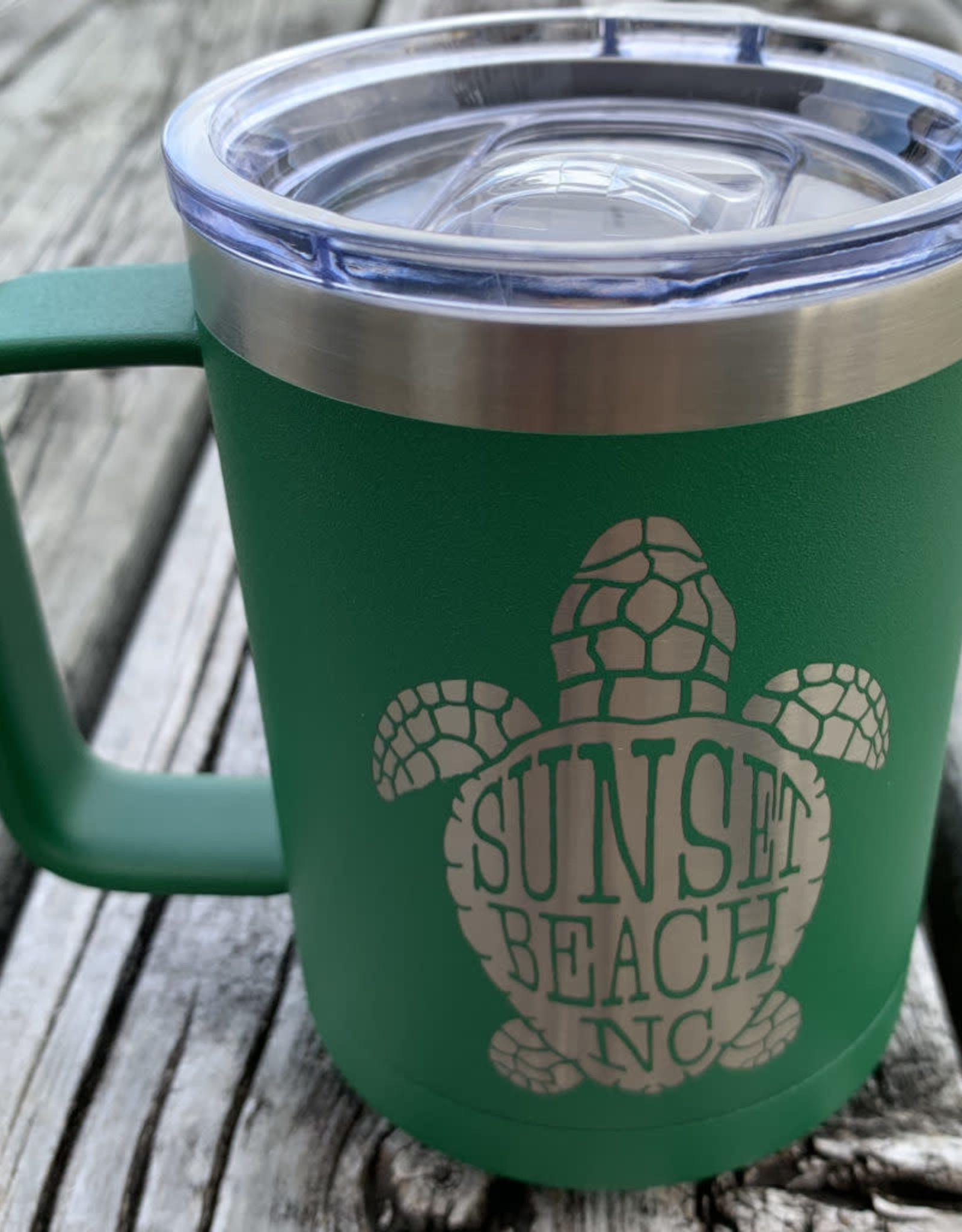 SBNC TURTLE INSULATED MUG GREEN