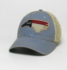 NC SHAPE FLAG OFA CAP LT BLUE