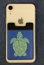 BLUE TURTLE PHONE POCKET