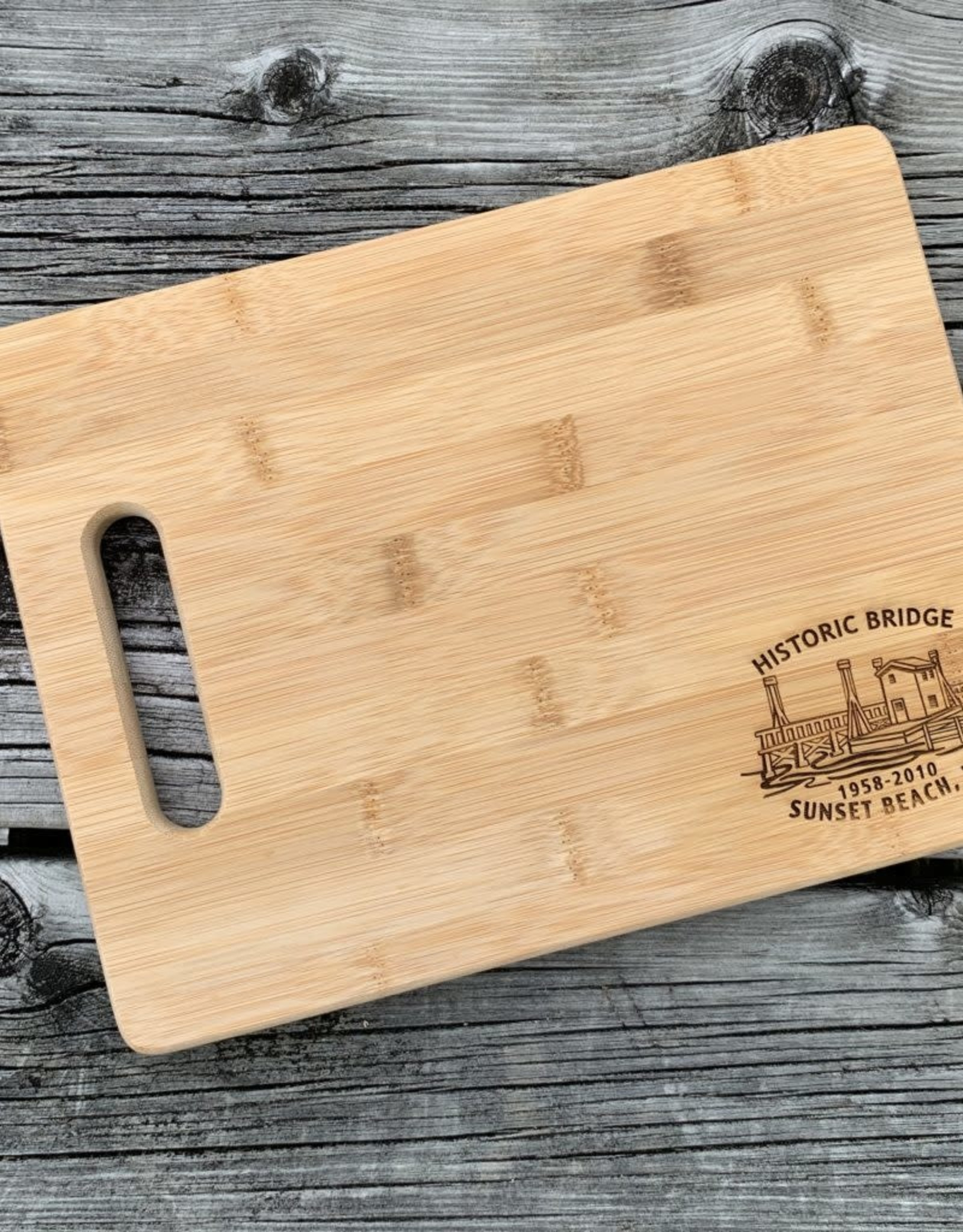 HISTORIC BRIDGE CUTTING BOARD