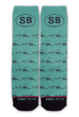 SEA TURTLE OVAL SOCKS