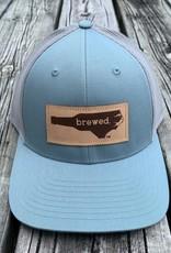 NC BREWED SMOKE BLUE ALUM CAP