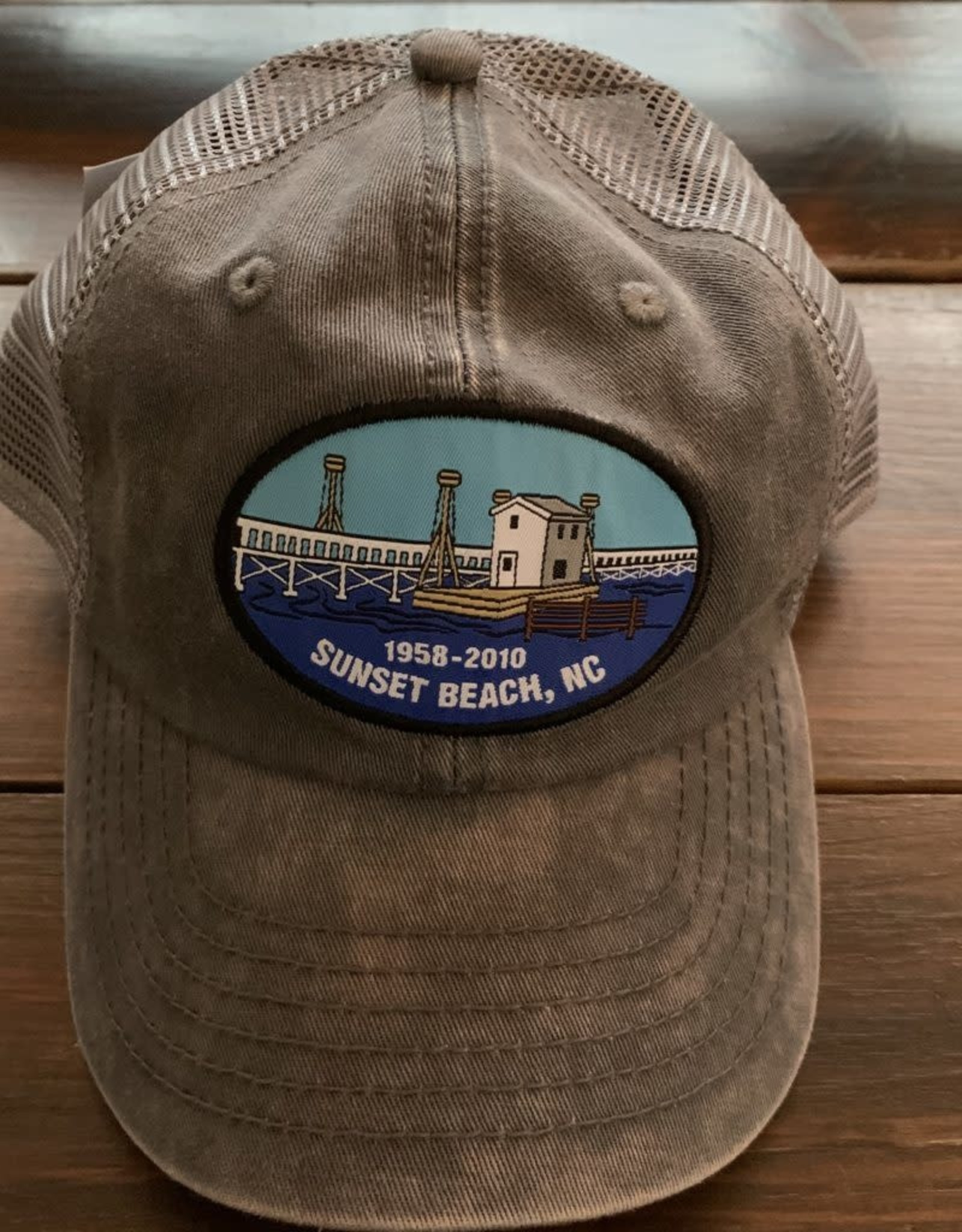 OLD BRIDGE OVAL MESH CAP
