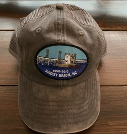 OLD BRIDGE OVAL MESH CAP