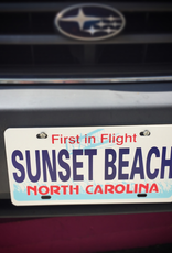 FIRST IN FLIGHT SB LICENSE PLATE