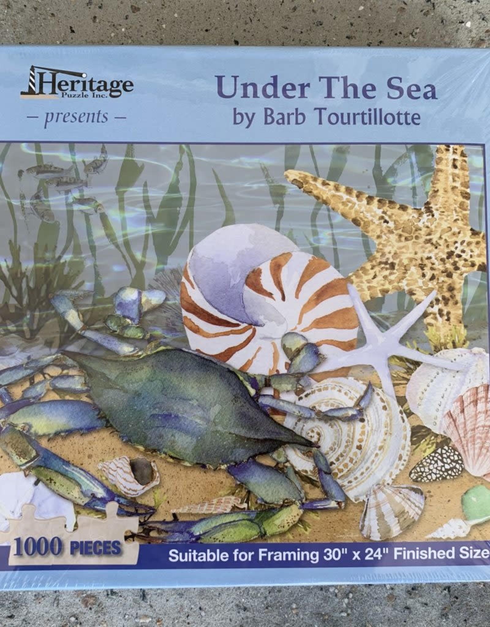 UNDER THE SEA PUZZLE 1,000PCS