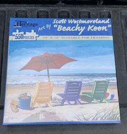 BEACHY KEEN PUZZLE 550PCS