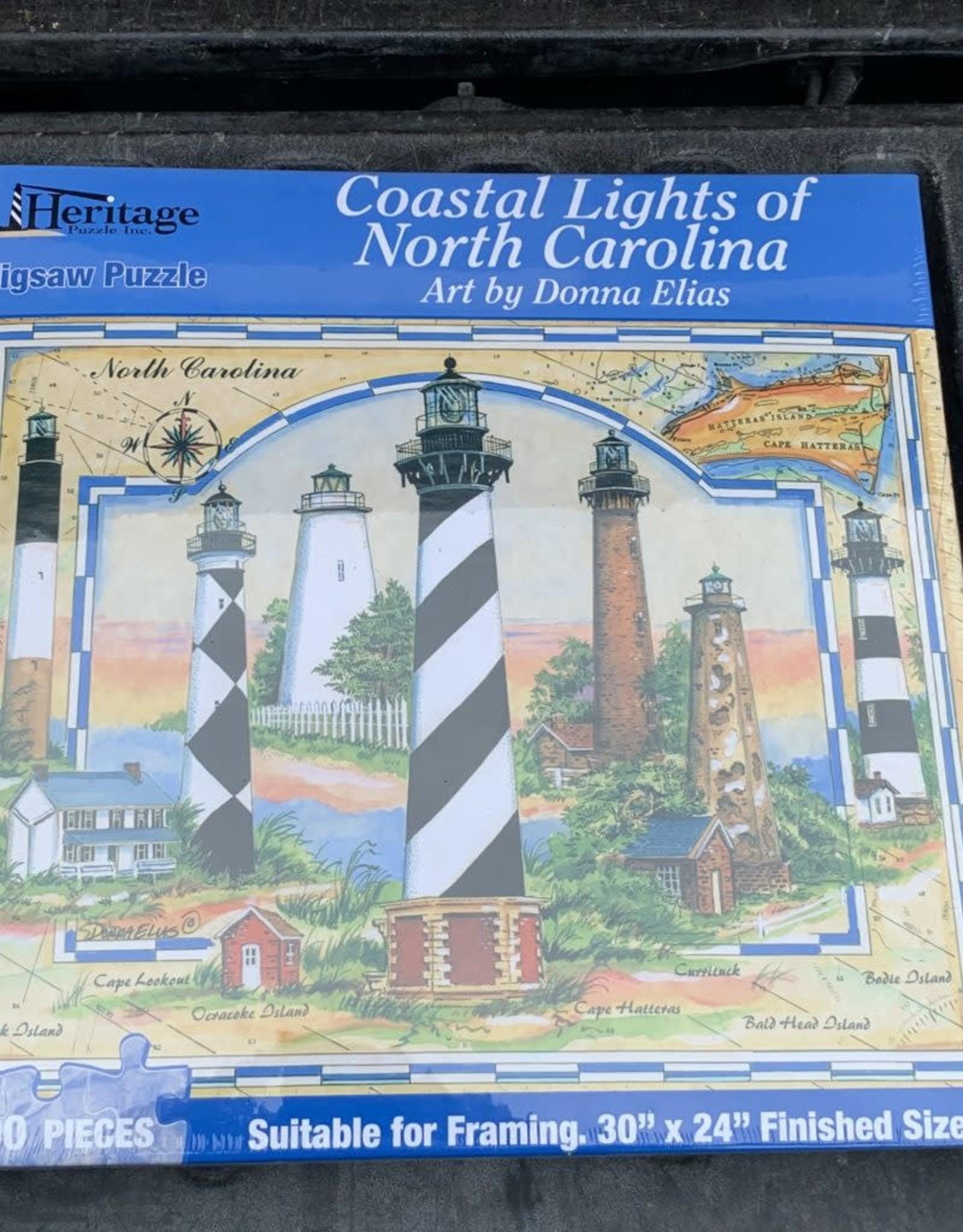 COASTAL LIGHTS PUZZLE 1,000PCS