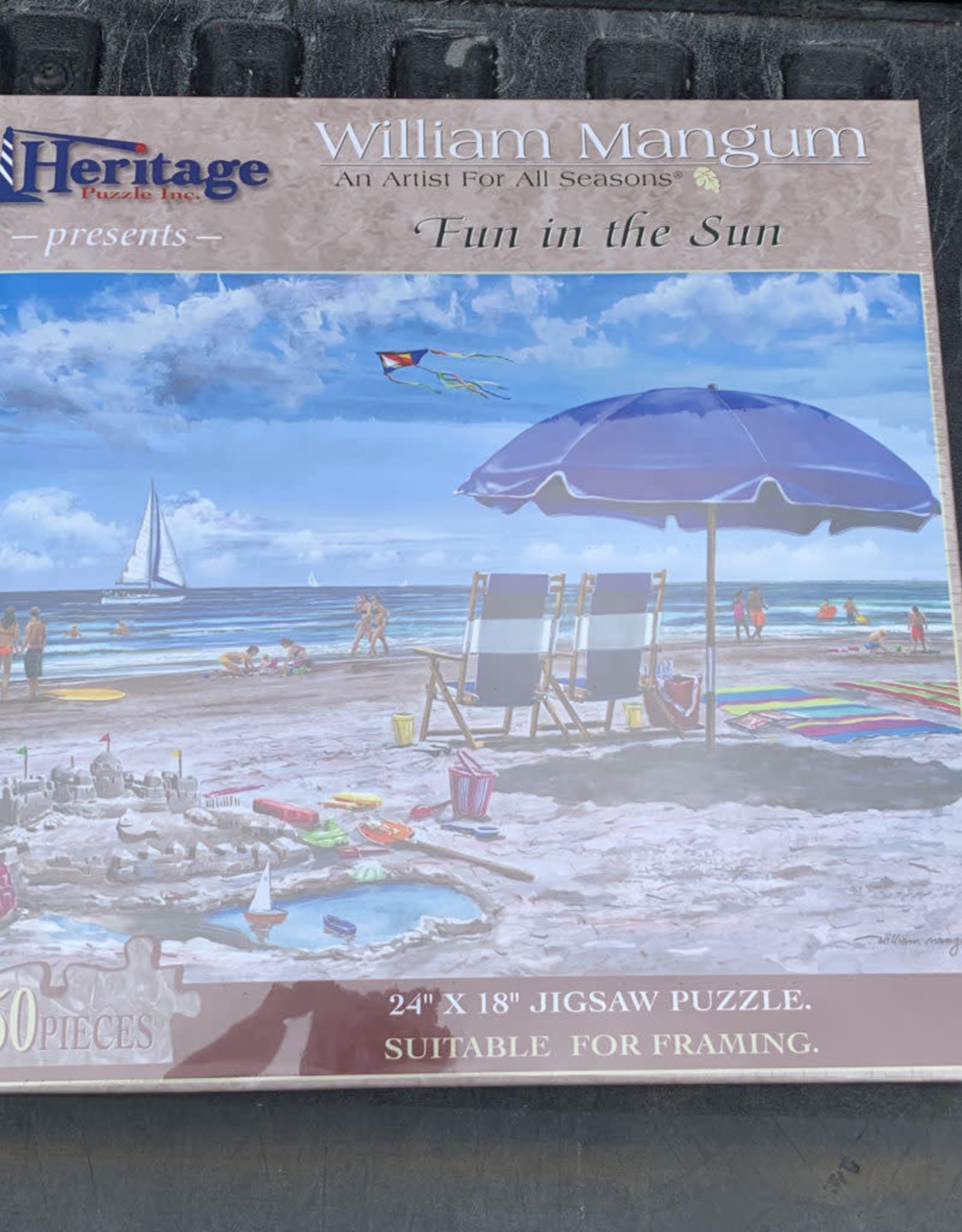 FUN IN THE SUN PUZZLE 550PCS