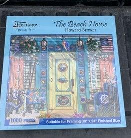 THE BEACH HOUSE PUZZLE 1,000PCS