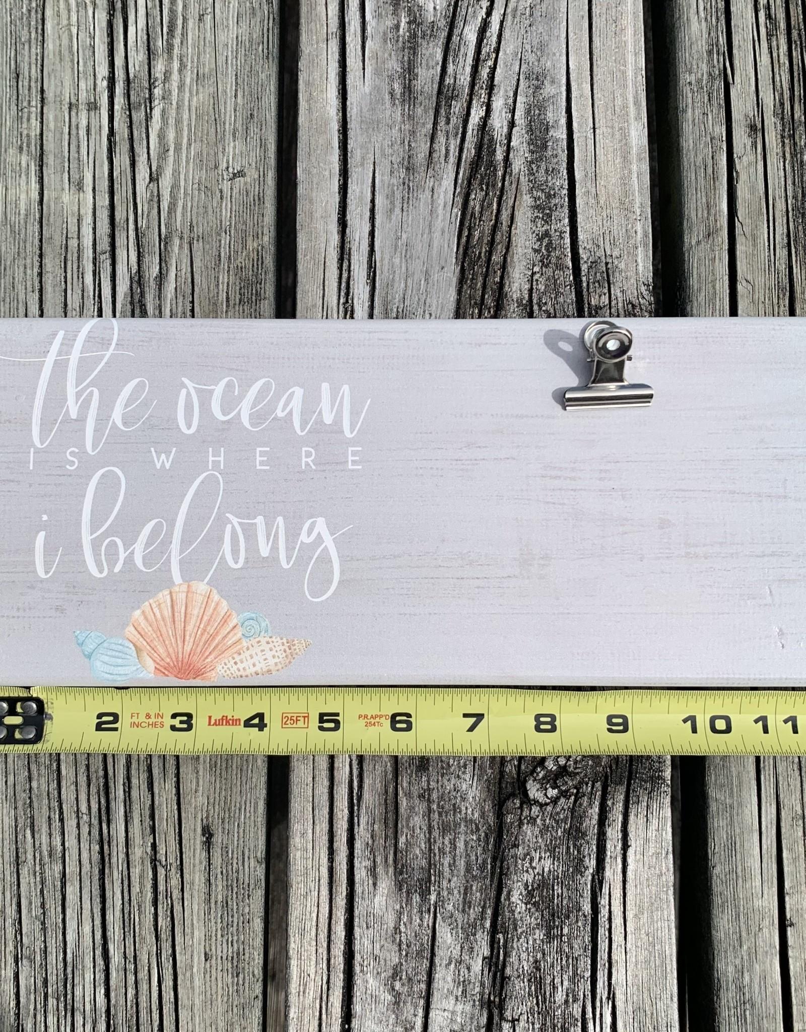 OCEAN WHERE I BELONG CLIP FRAME