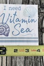 SQUARE SITTER I NEED VITAMIN SEA