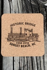 HISTORIC BRIDGE CORK COASTER