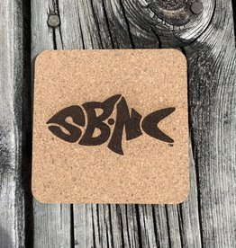 sbncfish SBNC FISH CORK COASTER