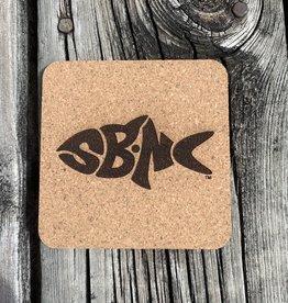 sbncfish SBNC FISH CORK COASTER