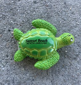 SEA TURTLE PVC MAGNET