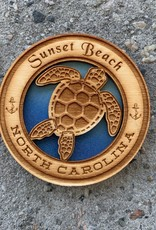 TURTLE CIRCLE MAGNET