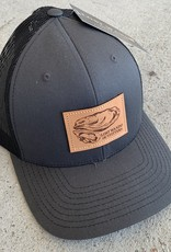 LWO OYSTER CHAR/BLK CAP