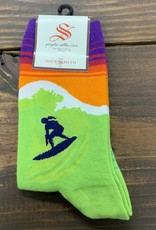 CATCH A WAVE WOMENS SOCK