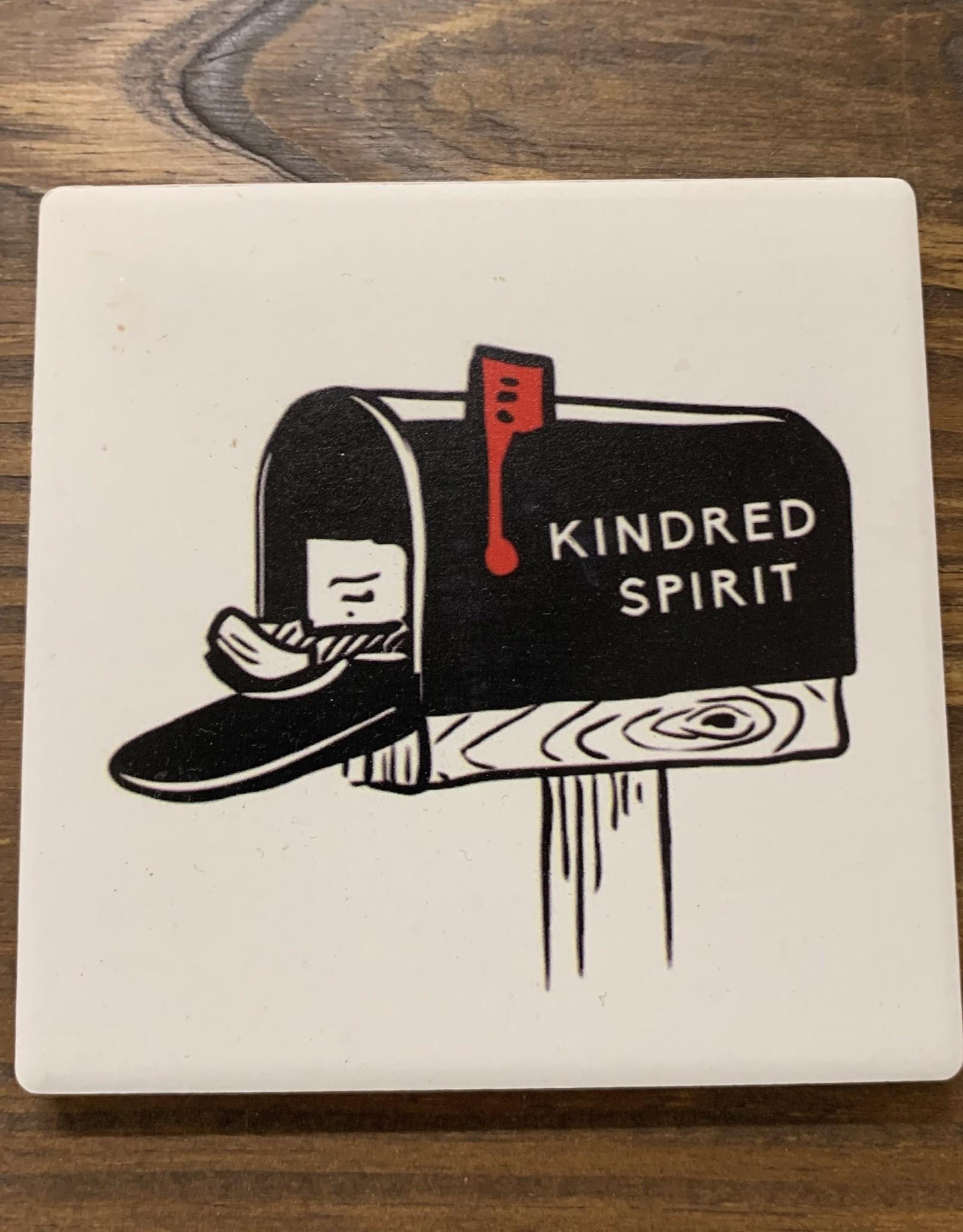 SIMPLE KINDRED SPIRIT MAILBOX COASTER