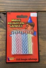 MAGIC RELIGHTING CANDLES