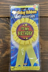 ITS MY BIRTHDAY RIBBON