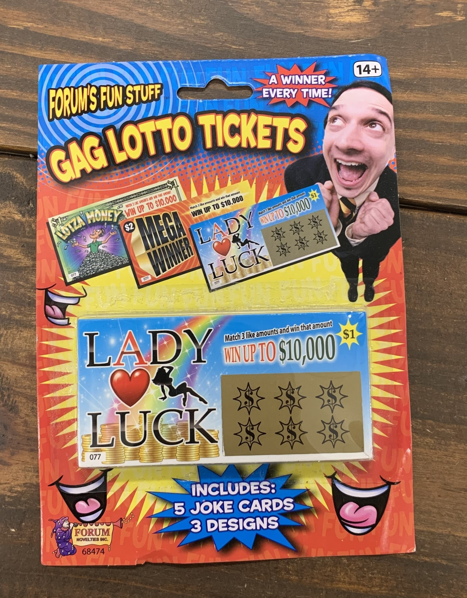 GAG LOTTO TICKETS