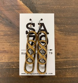 THE INFINITY- GOLD EARRING