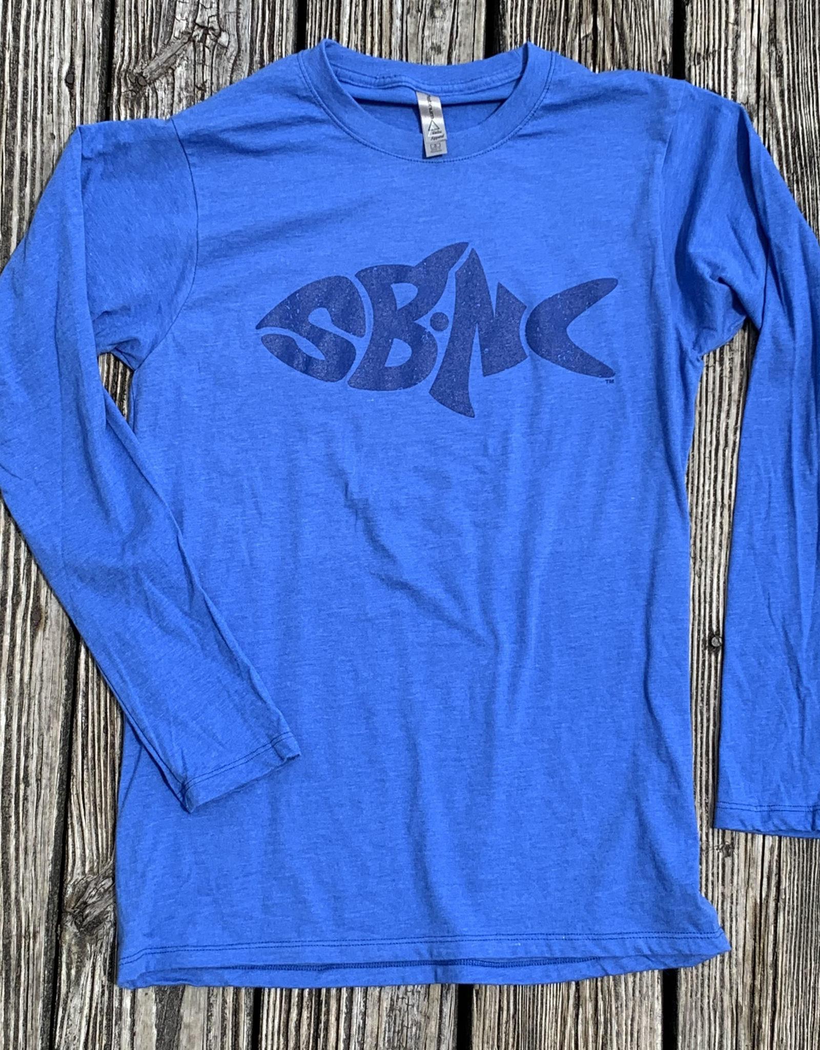 sbncfish SBNC FISH BLUE INK LS