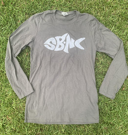 sbncfish SBNC FISH WHITE INK LS