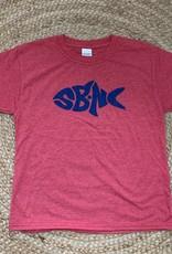 sbncfish SBNC FISH BLUE INK KIDS TEE