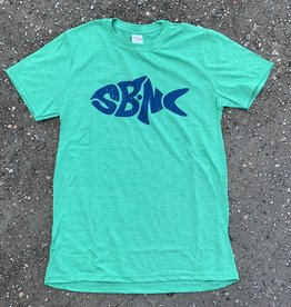 sbncfish SBNC FISH BLUE INK TEE
