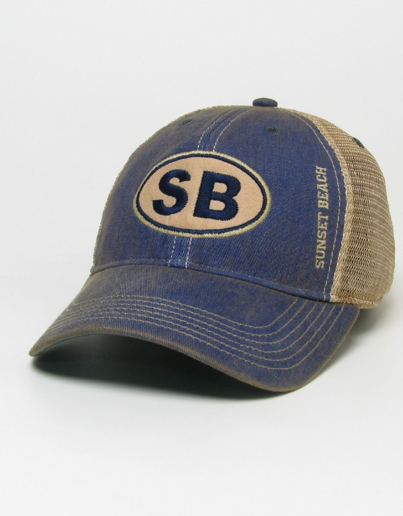 SB EURO OFY TRUCKER CAP BLUE