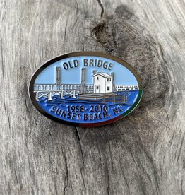 OLD BRIDGE LAPEL PIN