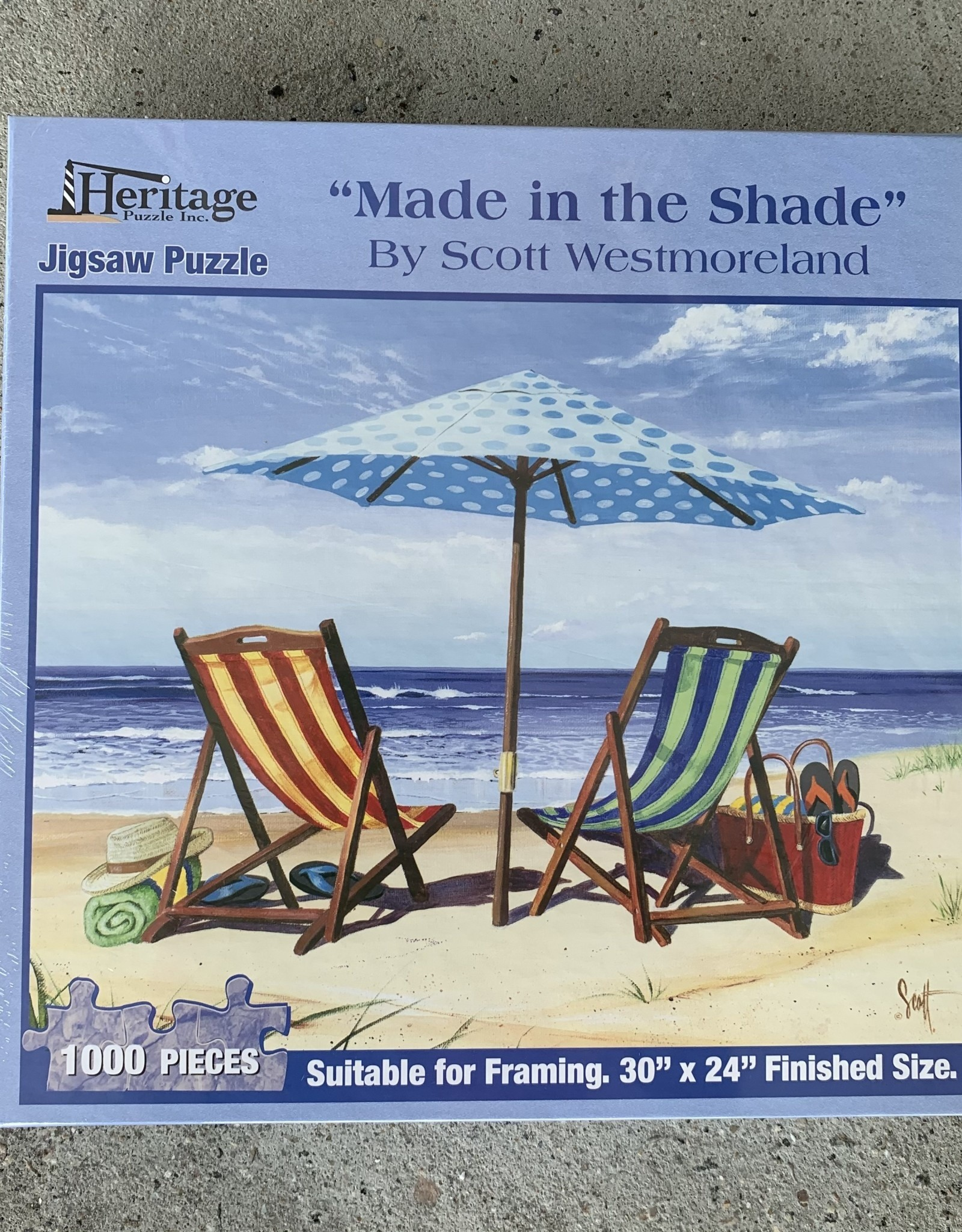 MADE IN THE SHADE PUZZLE 1,000PCS
