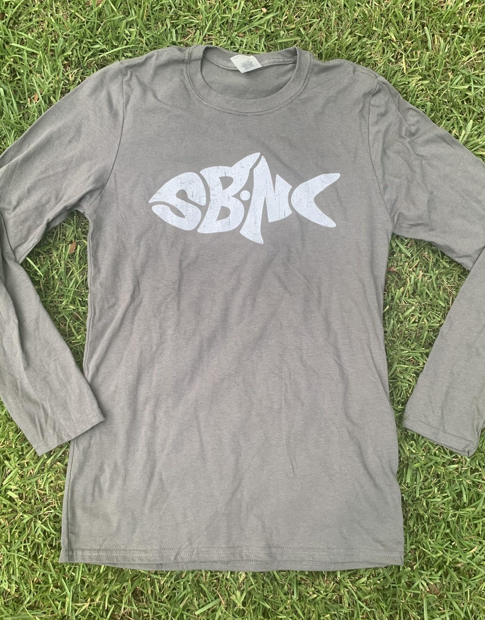 sbncfish SBNC FISH WHITE INK LS