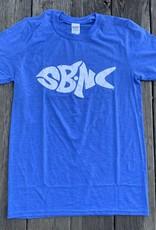 sbncfish SBNC FISH WHITE INK TEE