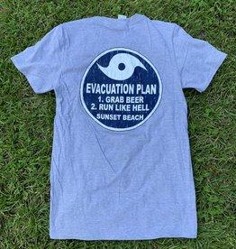 EVACUATION PLAN TEE